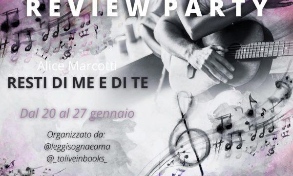 """Recensione: """"Resti di me e di te"""" di Alice Marcotti"""